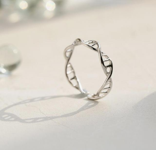 dna ring|molecule ringminimalist ring